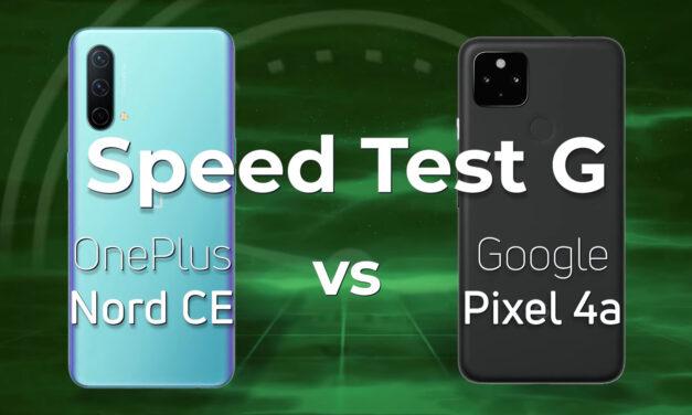 Prueba de velocidad G: OnePlus Nord CE frente a Google Pixel 4a