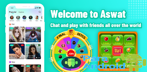 Aswat – Free Group Voice chat Rooms