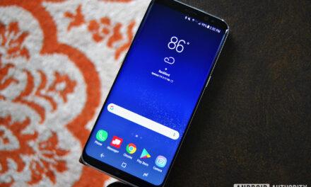 Samsung Galaxy S8 recibe una sorprendente actualización de seguridad