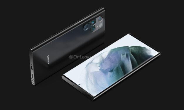 ¿Qué opinas del diseño del Samsung Galaxy S22 Ultra filtrado?