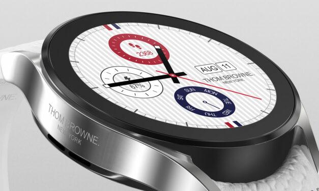 Lanzamiento de Thom Browne Samsung Galaxy Watch 4 Classic