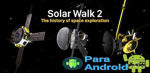 Solar Walk 2: Planetarium and Spacecraft 3D Models