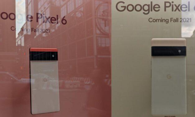 Google Pixel 6 ya se exhibe en Google Store en Nueva York